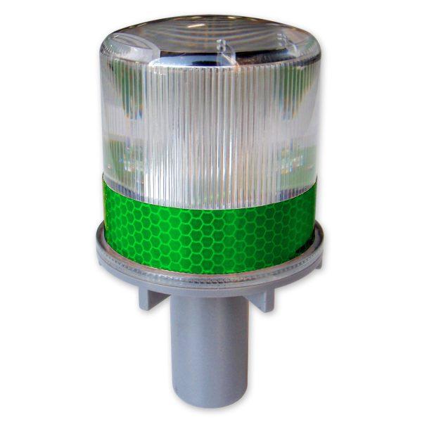 Green Solar Warning Beacon
