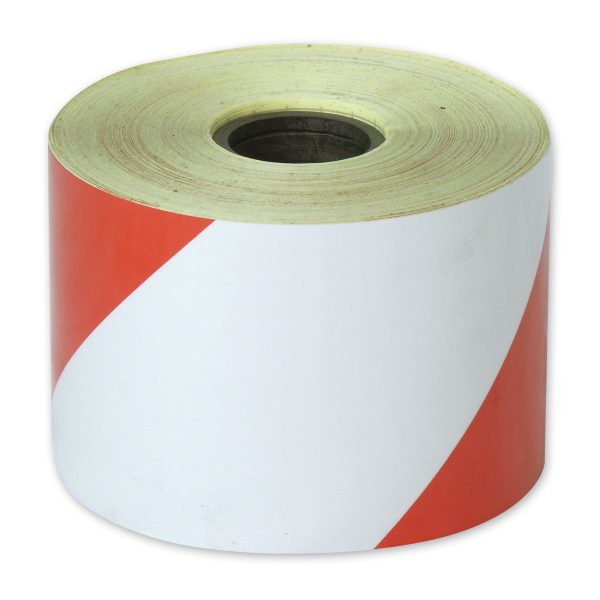 Zebra Tape red White class 1 Reflective 100mm